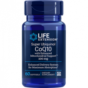 Life Extension CO Q10 Super Absorbable 100mg 60 softgels