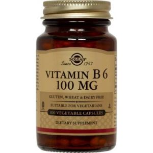 Solgar Vitamin B6 100Mg 100 Caps