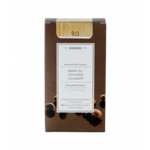 Korres Argan Oil Advanced Colorant Βαφή Μαλλιών 9.0 Ξανθό Πολύ Ανοικτό 50ml