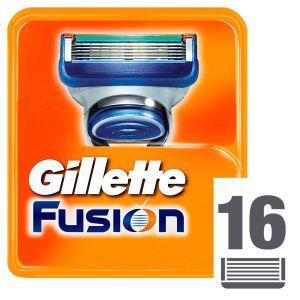Gillette Fusion Manual Ανταλλακτικά Ξυριστικής Μηχανής 16 Τεμάχια