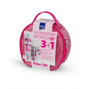 Intermed Eva Belle Pink Pack Κρεμα Ημερας 50ml & Αντιοξειδωτικος Ορος 50ml & Κρεμα Ματιων 15ml & Δωρο Serum Φρυδιων 10ml