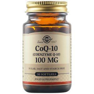 Solgar Coenzyme Q10 Συνένζυμο Q10 100mg Για Ενέργεια, Μείωση Της Κόπωσης & Ενδυνάμωση Καρδιαγγειακού 30 Μαλακές Κάψουλες