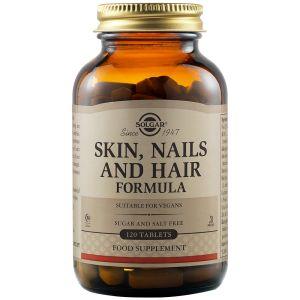 Solgar Skin Nails & Hair Ολοκληρωμένη Φόρμουλα Για Δέρμα Νύχια & Μαλλιά 120tabs