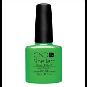 CND Shellac Lush Tropics Power Polish Color Coat Ημιμόνιμο Βερνίκι 7.3ml