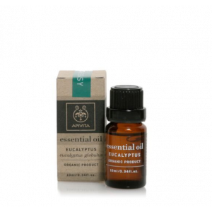 Apivita Essential Eucalyptus Oil Αιθέριο Έλαιο Ευκαλύπτου 10ml