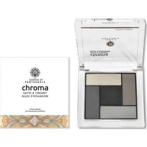 Garden Of Panthenols Chroma Σκιές Ματιών Satin & Creamy Nude No 2 6Gr