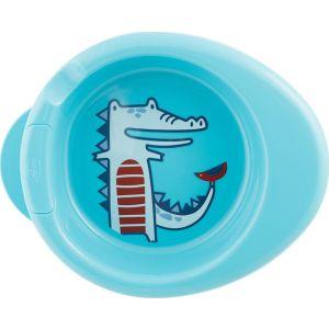 Chicco Πιατο Θερμος Μπλε 6Μ+ 1 Τμχ