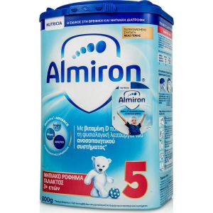 Nutricia Almiron 5 Νηπιακό Ρόφημα Γάλακτος 3+ Ετών 800 Gr