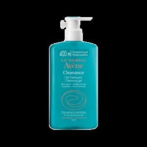 Avene Cleanance Gel Nettoyant Καθαρισμός Προσώπου & Σώματος για Λιπαρά Δέρματα, 400ml
