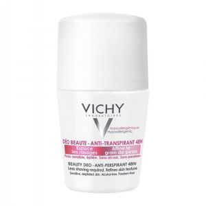 Vichy Ideal Finish Deo 48H Αποσμητικό Roll-On 50 ml