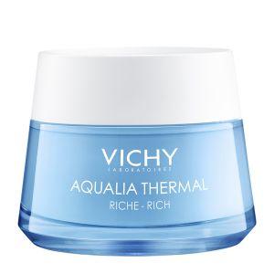 Vichy Aqualia Thermal Κρέμα Ενυδατικής Αναπλήρωσης Πλούσιας Υφής Για Ξηρές - Πολύ Ξηρές Επιδερμίδες 50ml