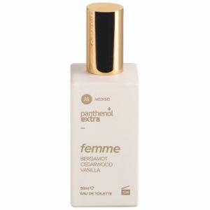 Medisei Panthenol Extra Femme Bergamot Cedarwood Vanilla Γυναικείο Άρωμα Edt 50ml