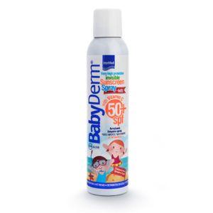 Intermed Babyderm Invisible Sunscreen Παιδικό Διάφανο Αντιηλιακό Spray Με Βιταμίνη C Spf50+ 200ml