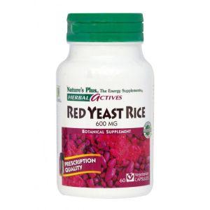 Nature's Plus Red Yeast Rice 600mg Για Την Προστασία Της Καρδιάς 60 Φυτικές Κάψουλες