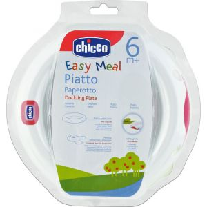 Chicco Πιατο με Βαση Βεντουζας 6Μ+ 1 Τμχ Cod.00-061766-00