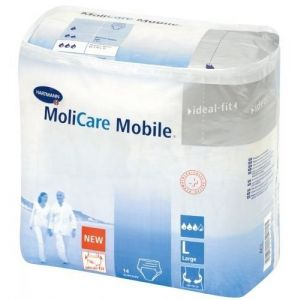 Hartmann Molicare Mobile® Σλιπ Ακράτειας Large 915833 14 Τμχ