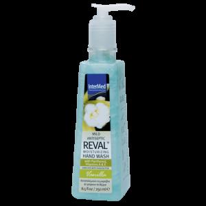 Intermed Reval Moisturizing Hand Wash Vanilla Καταπολεμά Τα Μικρόβια 250ml