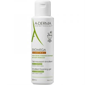 A-Derma Exomega Control Gel Moussant Κρεμώδης Αφρός Καθαρισμού 500ml