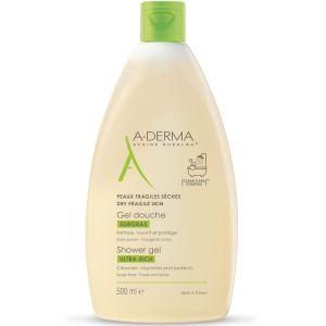 A-Derma Gel Douche Surgras Αφρός Καθαρισμού Για Ξηρό Δέρμα 500ml