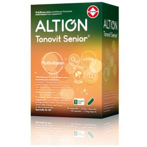 Altion Tonovit Senior Πολυβιταμινούχο Συμπλήρωμα Διατροφής Για Ηλικίες Άνω Των 50 40caps