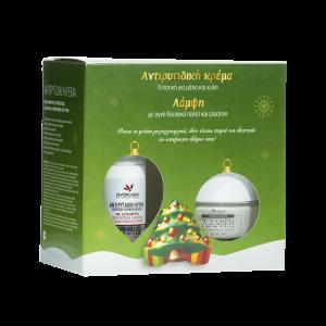 Anaplasis Πακέτο Promo Set Χριστουγεννιάτικο Σετ Αντιρυτιδική Κρέμα Ματιών - Χειλιών 15ml & Κρέμα Ημέρας Λάμψης 50ml