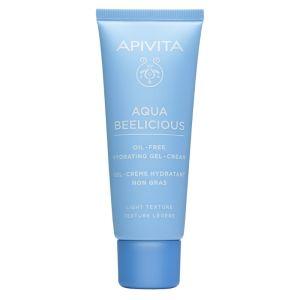Apivita Aqua Beelicious Oil-Free Κρέμα- Gel Ενυδάτωσης Ελαφριάς Υφής Με Λουλούδια Και Μέλι 40ml
