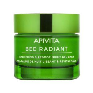Apivita Bee Radient Gel Balm Νύχτας Για Λείανση & Αναζωογόννηση 50ml