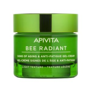 Apivita Bee Radiant Κρέμα Gel για Σημάδια Γήρανσης & Ξεκούραστη Όψη Ελαφριάς Υφής 50ml