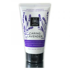 Apivita Caring Lavender Ενυδατική & Καταπραϋντική Κρέμα Σώματος Υποαλλεργική 150 ml