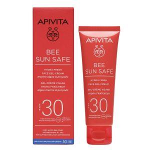 Apivita Bee Sun Safe Αντιηλιακή Κρέμα - Gel Προσώπου Spf30 50ml