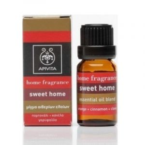 Apivita Essential Oil Blend Αιθέριο Έλαιο Sweet Home 10ml