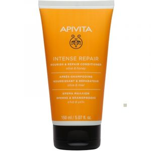 Apivita Conditioner Κρέμα Μαλλιών Θρέψης & Επανόρθωσης Με Ελιά & Μέλι 150ml