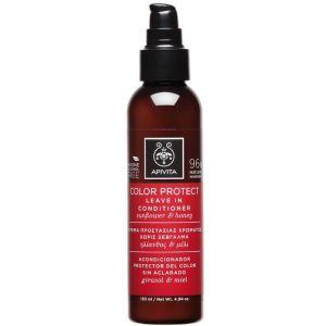 Apivita Hair Leave In Conditioner Προστασία Χρώματος Με Ηλίανθο & Μέλι 150ML