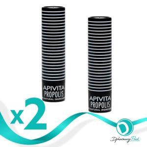 Apivita Πακέτο 1+! Δώρο Lip Care με Πρόπολη 2x4.4gr