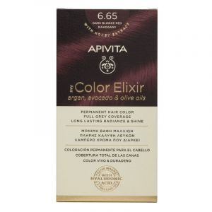 Apivita My Color Elixir Βαφή Μαλλιών 6.65 Έντονο Κόκκινο 50ml + 75ml