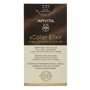 Apivita My Color Elixir Βαφή Μαλλιών 7.77 Ξανθό Έντονο Μπεζ