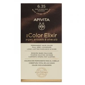 Apivita My Color Elixir No 6.35 Ξανθό Σκούρο Μελί Μαονί