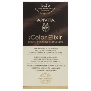 Apivita My Color Elixir no 5.35 Καστανό Ανοιχτό Μελί Μαονί