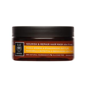 Apivita Nourish & Repair Μάσκα Μαλλιών Θρέψης & Επανόρθωσης Με Ελιά & Μέλι 200ml