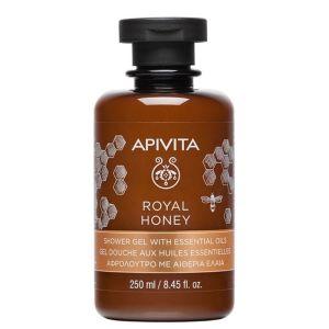 Apivita Royal Honey Κρεμώδες Αφρόλουτρο Με Μέλι & Αιθέρια Έλαια 250ml
