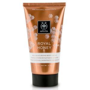 Apivita Royal Honey Πλούσια Κρέμα Ενυδάτωσης Σώματος 150ml