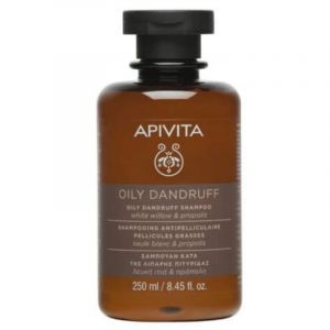 Apivita Oily Dandruff Shampoo Σαμπουάν Κατά Της Λιπαρής Πιτυρίδας Με Λευκή Ιτιά & Πρόπολη 250ml