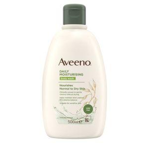 Aveeno Daily Moisturising Body Wash Ενυδατικό Υγρό Καθαρισμού Σώματος με Ελαφρύ Άρωμα 500ml