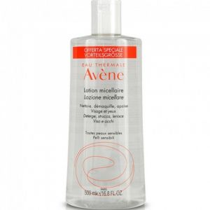 Avene Lotion Micellaire Απαλή Λοσιόν Καθαρισμού Μακιγιάζ Για Πρόσωπο, Μάτια & Χείλη 500ml