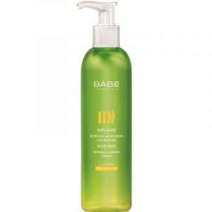 Babe Body Aloe Gel 100% Καταπραϋντικό Μη Λιπαρό Τζελ Με Αλόη 300ml