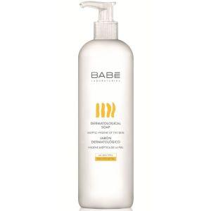 Babe Body Dermatological Soap Αφρόλουτρο Για Όλους Τους Τύπους Δέρματος 500ml