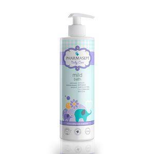 Pharmasept Tol Velvet Baby Care Mild Bath Απαλό Βρεφικό Αφρόλουτρο Για Σώμα & Μαλλιά 500ml