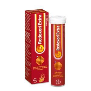 Bayer Redoxon Βιταμίνη C Έξτρα Βιταμίνες Και Μέταλλα Με Γεύση Πορτοκάλι 15 eff. tabs