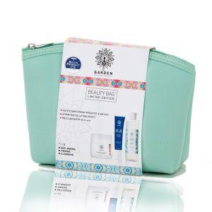 Garden Of Panthenols Beauty Bag Set No1 Αντιρυτιδική Κρέμα Προσώπου & Ματιών 50ml & Κρέμα Ματιών Lifting Effect 30ml & Micellar Water All In One 100ml Σε Πρακτικό Νεσεσέρ