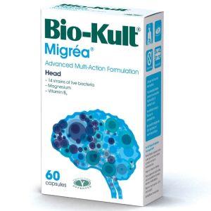 Bio-Kult Migrea Προβιοτική Φόρμουλα Που Συμβάλλει Στην Ομαλή Λειτουργία των Νεύρων του Εγκεφάλου 60caps